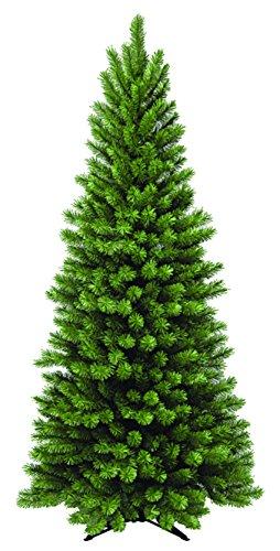 Green Slim Spruce Tree 7 Feet