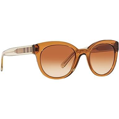 BURBERRY Burberry Damen Sonnenbrille » BE4210«, braun, 356413 - braun/braun