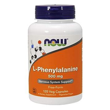 Now Foods Phenylalanine, 120 Caps, 500 Mg: Amazon.es: Salud y cuidado personal