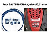 BMotorParts Recoil Pull Start Starter for 21'' 190cc Troy Bilt TB360 Mower Briggs & Stratton