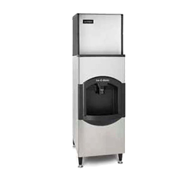 Ice-O-Matic ICE0320HA-CD40022 334 lb 22 Air-Cooled Ice Machine w// CD40022 Hotel Dispenser