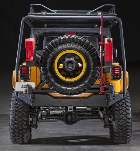 Body Armor Jeep Bumpers - 7