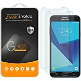 Supershieldz [2-Pack] for Samsung Galaxy J7 (2017) Tempered Glass Screen Protector, Anti-Scratch, Anti-Fingerprint, Bubble Free, Lifetime Replacement Warranty