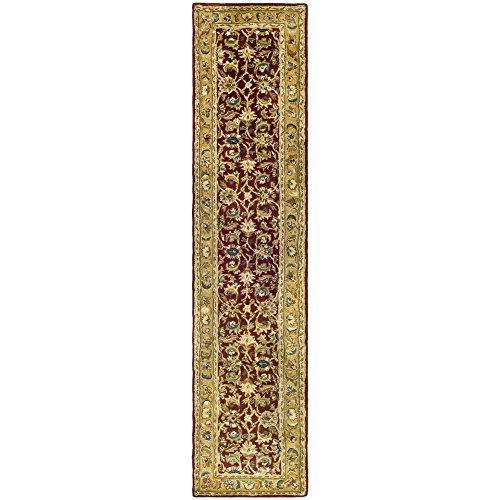 - Safavieh Classic Collection CL758K Handmade Traditional Oriental Rust and Camel Wool Runner (2'3