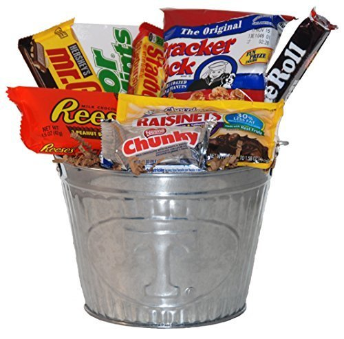 University of Tennessee Snack Bucket Gift Basket - Small