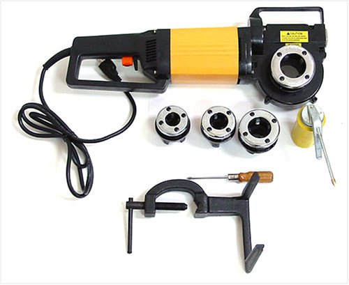 Portable electric threading machine pipe threader dies
