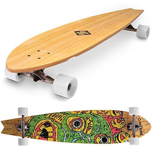 Street Surfing Fishtail Pascoa Longboard, 42
