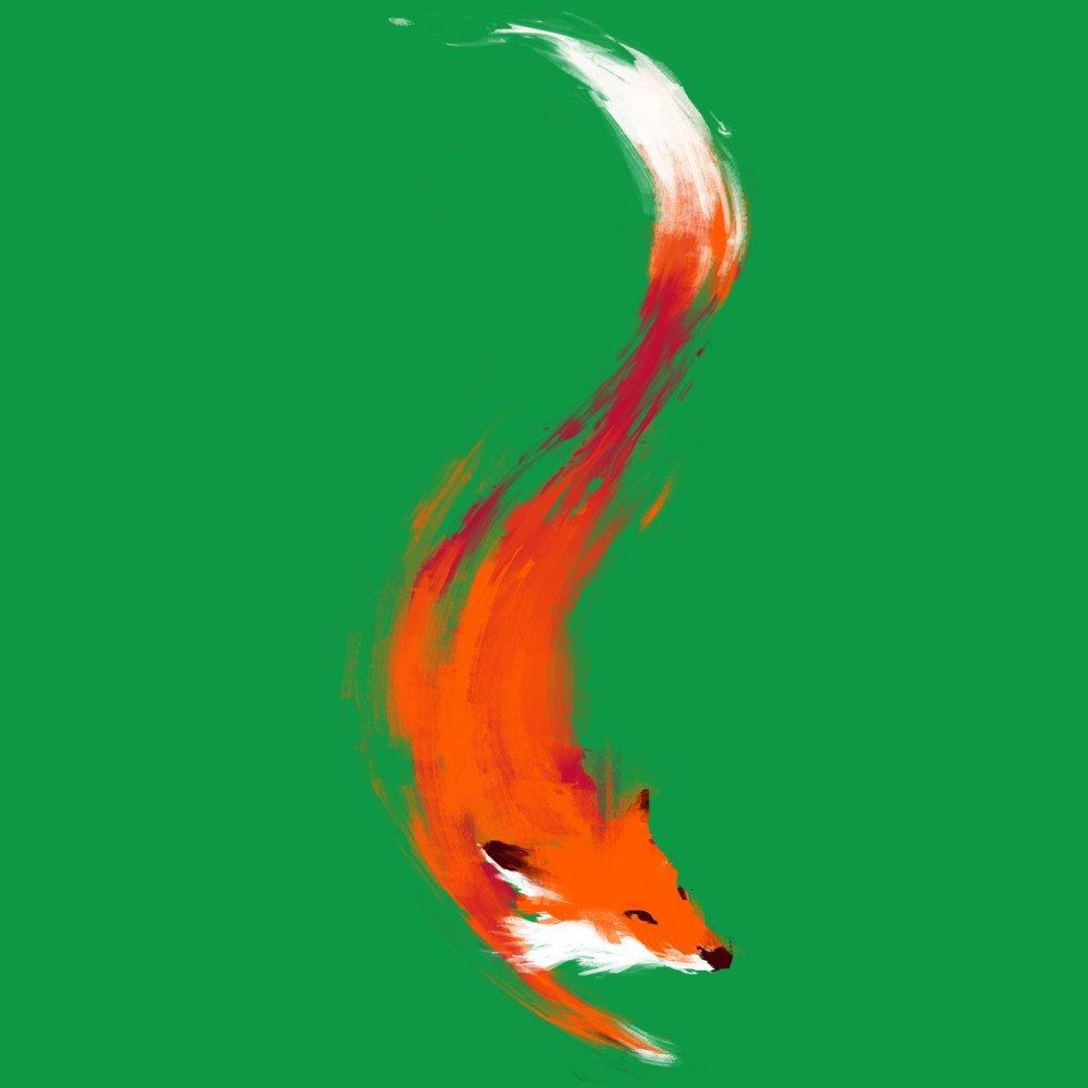 d681e9df9 Amazon.com: The Quick Orange-Red Fox Men's Graphic T Shirt - Design By  Humans: Clothing
