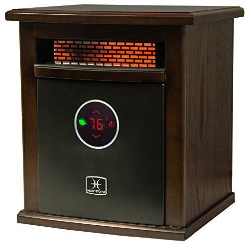 Heat Storm Deluxe Logan Portable Infrared Space Heater by Heat Storm Infrared Heaters