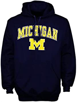 Universidad de Michigan Apparel Camiseta de Sudadera con Capucha Sudadera con Capucha Gorro Wolverines Ropa, Azul, Extra-Large: Amazon.es: Deportes y aire ...