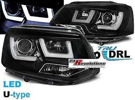 T5 Gp Scheinwerfer Led Tagfahrlicht Light Tube In Schwarz U Type 11 2009 06 2015 Auto
