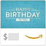 Amazon eGift Card - Birthday Icons