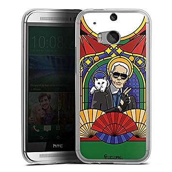 HTC 10 móvil Case Funda Carcasa Karl Lagerfeld Gafas de sol ...