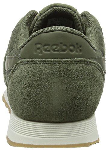 Hombre Deporte Green Sg hunter Reebok De Nylon Cl Verde 000 chalk Para Zapatillas CEwqX0Rqx