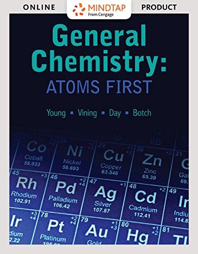 MindTap Chemistry for General Chemistry: Atoms First, 1st Edition by Cengage Learning