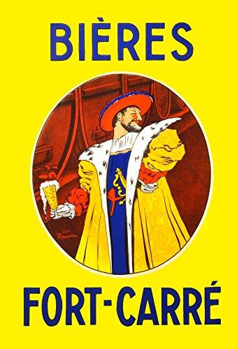 Bires Fort-Carr enamel advertising sign Poster Print by Cappiello (24 x (Enamel Advertising Sign)