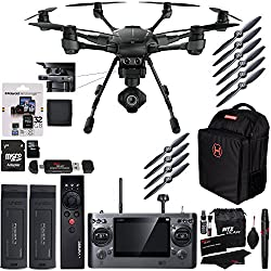 Yuneec Typhoon H Pro 4k Intel RealSense Collision Avoidance Hexacopter and Accessory Bundle