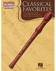 Classical Favorites: Hal Leonard Recorder Songbook