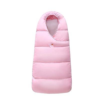 Saco de dormir de bebé Abajo algodón Swaddle Wrap - Invierno Cálido manta Cubrepiernas para carrito