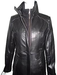 Amazon.com: Petite - Leather & Faux Leather / Coats, Jackets ...