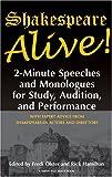 Shakespeare Alive!, William Shakespeare, Fredi Olster, Rick Hamilton, 1575254182
