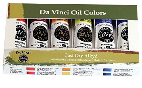 artists-fast-dry-alkyd-oil-colors-pack-of-6-da-vinci-21-ml-6-colors