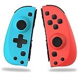 PENJOY C25 Joy Pad Switch Controller para Nintendo Switch, reemplazo para Joycon, controlador de interruptor cableado/inalámb