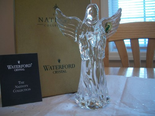 - Waterford Crystal Collectible Nativity Herald Angel Figurine/Sculpture