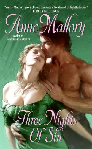 book cover of Three Nights of Sin