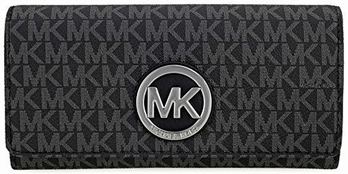 Michael Kors Fulton Signature Carryall Wallet - Black - 32S7SFTE3B-001 by MICHAEL Michael Kors