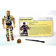 """GI Joe 1993 3 3/4"""" Mail Away Desert-Camo Savage Action Figure"""