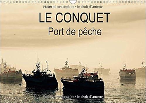 Lire Le Conquet Port de Peche 2016: Le Port du Conquet en Bretagne et ses Bateaux de Peche epub, pdf
