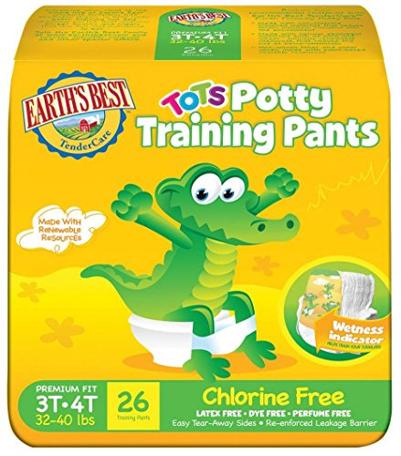 Earth's Best Training Pants - 3T-4T - 104 ct