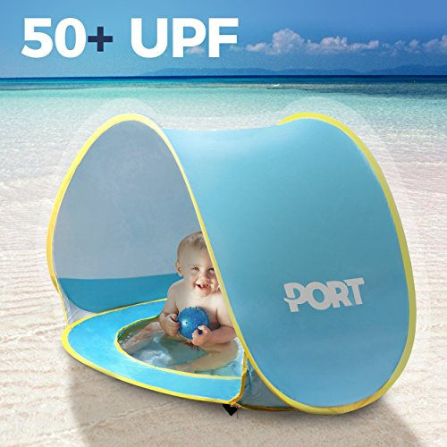 baby beach tent with fan - 1