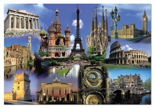 Educa Borrás 14122 – 2000 Collage De Europa
