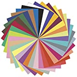 Riverside 3D Construction Paper, 10 Assorted Colors, 24'' x 36'', 50 Sheets