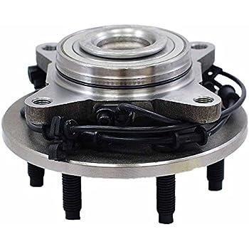 6-Stud Hub W/ABS TUCAREST 541001 Rear Wheel Bearing and Hub ...