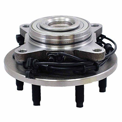 HU515042 x 1 Brand New Wheel Bearing Hub Assembly Front Left Or Right Side ( 6 Lug 2WD ) Fit 03 - 06 Ford Expedition, Lincoln Navigator