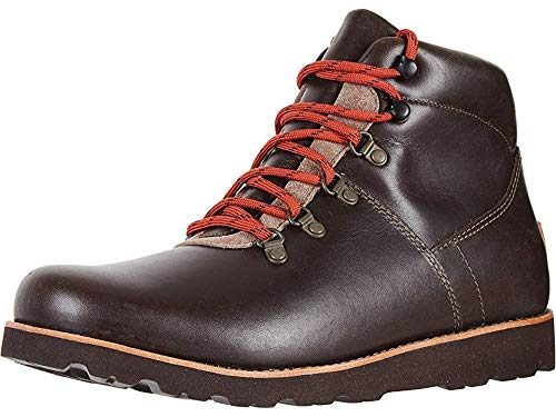 UGG Men's HAFSTEIN Snow Boot, Slate, 17 M US