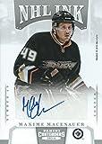 2013-14 Panini Contenders NHL Ink MAXIME MACENAUER Auto Signature 01781