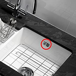 RAK Chrome Ceramic Kitchen Sink Decorative Overflow Cover Plate & Bolt