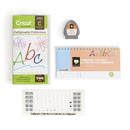 Cricut Cartridge, Calligraphy Collection by Provo Craft & Novelty/ Cricut