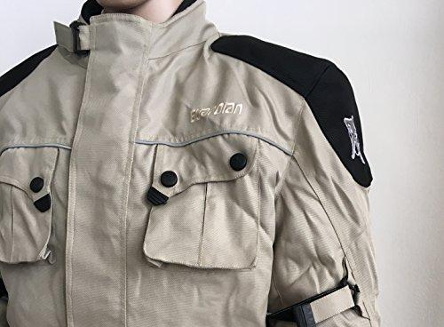 Guardian Jacke Motorrad, Farbe Schwarz, Größe XL