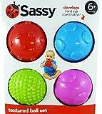 Sassy Baby Set of 4 Textured Balls