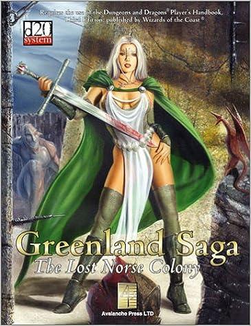 Title: Greenland Saga The Lost Norse Colony d20 30 Fantas