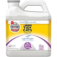 Purina Tidy Cats LightWeight Clean Blossoms With Glade Tough Odor Solutions Clumping Litter - (1) 6 lb. Jug