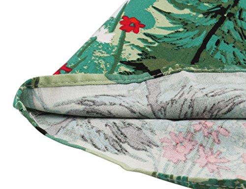 FAIRY Dcontracte Vintage Jupe Swing Plis l COUPLE de No Jupe Arbre de DRT007 Floral Imprim Jupe Jupe rPqrpAF