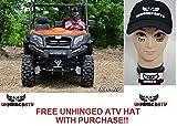 ! SuperATV CFMOTO UForce 2'' Lift Kit and Free Unhinged ATV Hat!
