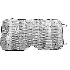 Amazon.com: Silvery Reflective Heat Sun Shield Shade for Car Auto ...