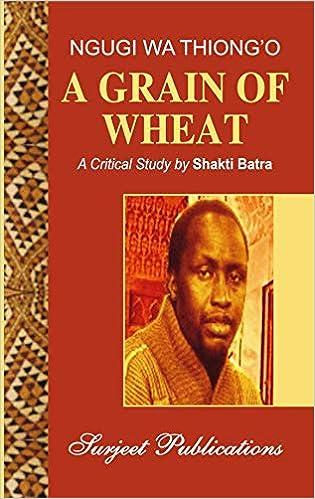 A Grain Of Wheat Book